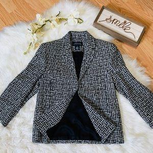 NWT Jones New York Signature Tweed Blazer Small